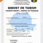BREVET DE TURISM - CAPITANU ADRIAN