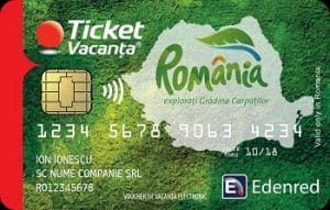 Card Ticket Vacanta Edenred