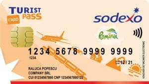 Card SODEXO Turist Pass