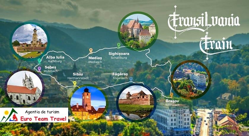 Circuit Transilvania Train 5 zile - 780 €/Persoana