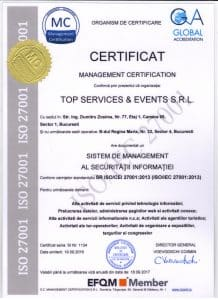 TOP SERVICES & EVENTS 27001 001