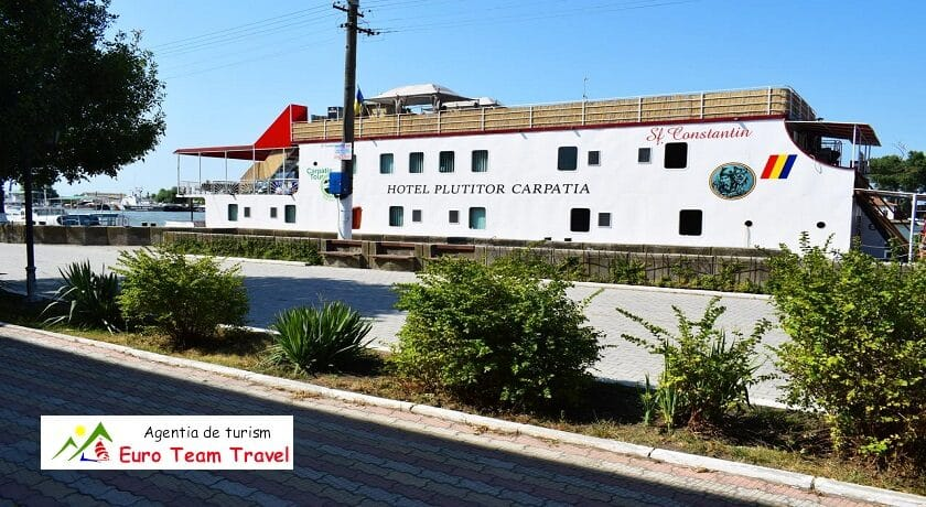 Hotel Plutitor Carpatia Sf Constantin Sulina Delta Dunarii